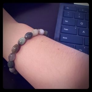 Buddhist Jade Bracelet